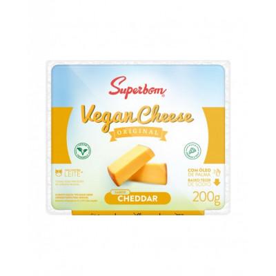 Vegan Cheese Original 200G Cheddar - Superbom