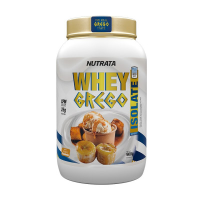 Whey Grego Isolate 900G – Nutrata
