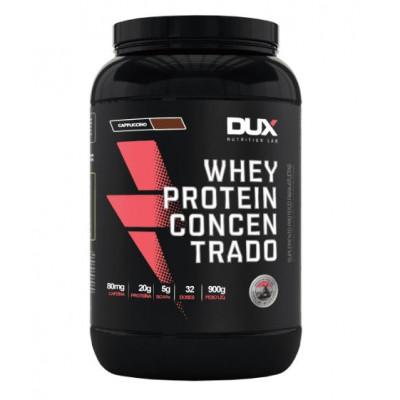 Whey Protein Concentrado 900G Cappuccino - Dux Nutrition