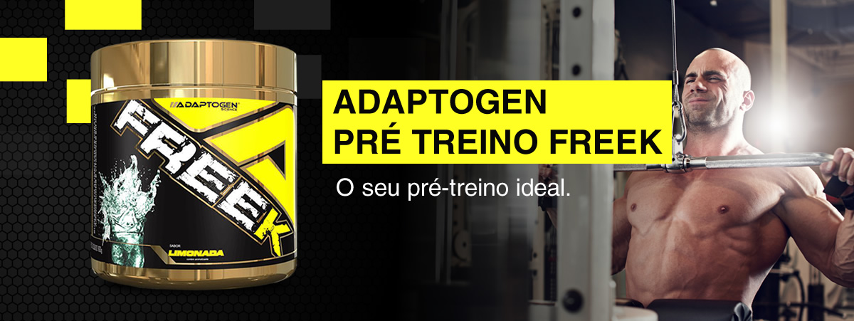 Adaptogen Pré treino Freek 2.1