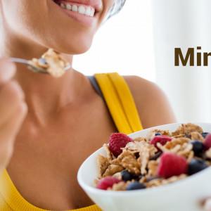 Café da manhã fit com Mingau Proteico