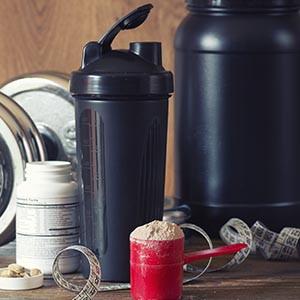 Suplementos alimentares: hipertrofia muscular