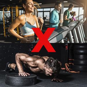 Exercício aeróbico x exercício anaeróbico